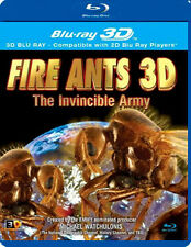 FIRE ANTS 3D - THE INVINCIBLE ARMY - BLU-RAY - REGION B UK