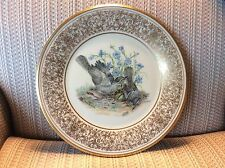 "Lenox American Bird Plate - ""Mockingbirds"" - Signed Boehm - Mint - W/Box./"
