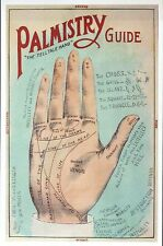 Palmistry Guide, Hand Reading, Chirology English Information --- Modern Postcard