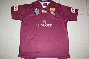 QLD Maroons state of origin mens Jersey , WITH DEFECTS