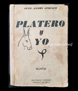 Platero y yo Juan Ramón Jimenez Chile Edición clandestina 1916
