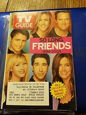 TV GUIDE NBC SO LONG FRIENDS COVER 1994-2004