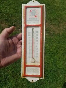 Vintage Pabst Blue Ribbon Beer Thermometer Suders Distributor Meyersdale PA