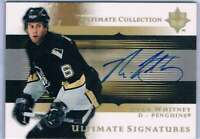 2005-06 Ultimate Collection Ultimate Signatures #USRW Ryan Whitney NM-MT Auto Pe