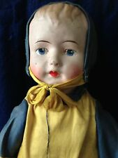 Antique Ethnic Dressed Cloth Doll Excellent Condition with tag