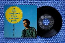 GUY BEART / EP TEMPOREL GB 60005 / Verso 2 / BIEM 1966 ( F )