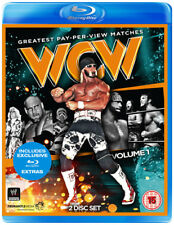 WCW: Greatest PPV Matches - Volume 1 Blu-Ray (2014) Ric Flair cert 15 2 discs