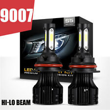9007 HB5 420W OSLAMP COB LED Headlight Kit Hi-Low Beam Bulb White 6000K vs CREE