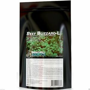 BRIGHTWELL REEF BLIZZARD-L 50 Grams Best Value Coral food