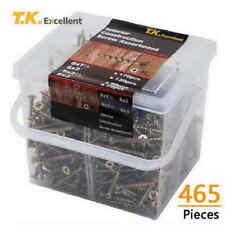Wood Interior Construction Screws Drywall / Deck Screws Assortment Kit,465 Pcs