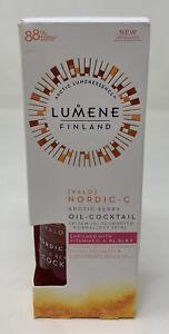 Lumene Valo Nordic-C Arctic Berry Oil-Cocktail - 1 fl oz(1-18 Mi)