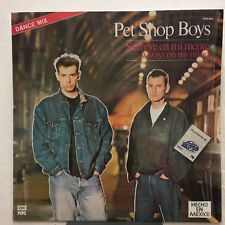 "PET SHOP BOYS Siempre En Mi Mente 1987 MEXICO ORG 12"" Exclusive SLEEVE Shrink!"