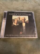 Michael Daugherty. American Gothic. CD. Orchestra Iowa. New Sealed.