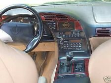 CHEVROLET CORVETTE VETTE 1990 1991 1992 1993 1994 1995 96 C4 WOOD DASH TRIM KIT