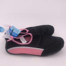 Women's Water Aqua Shoes 9-10 Pink/black