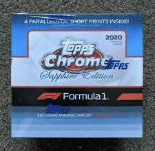 More details for 2020 topps formula 1 chrome sapphire box order confirmed f1- ready to dispatch!