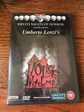 Umberto Lenzi House Of Witchcraft Dvd Pal Format Italian Horror Cult Rare Oop