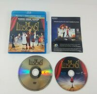 The Illusionist (Blu-ray/DVD, 2010, 2-Disc Set) Academy Award Nominee Classics
