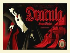Universial Monsters 1931 Dracula Movie Poster Sticker or Magnet
