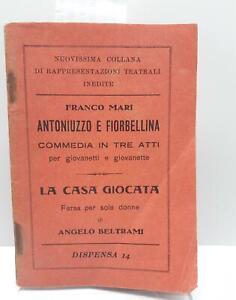 Teatro Commedia Franco Mari Antoniuzzo e Fiorbellina Beltrami La casa giocata