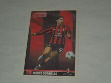 MILAN CALCIO-CARTOLINA FORZA MILAN 2003/2004 CALCIATORE MARCO BORRIELLO CM.10X15