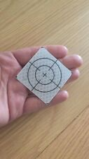 Pack of 10 Retro Survey Targets 50x50 mm Adhesive For Total Stations EDM