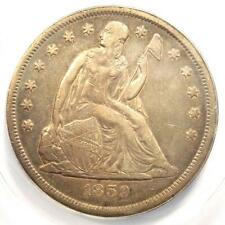 1859-O Seated Liberty Silver Dollar $1 - Certified ANACS XF40 Detail - Rare Coin