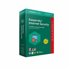 Kaspersky Internet Security 2018 - 3 Appareils- 1An, PC, Mac,Android, iOS -BOITE