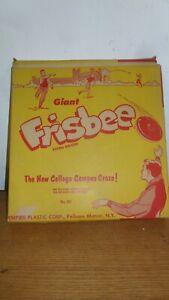 "Wham-o Empire Plastics Frisbee Giant Authentic Mystery Y 11.5"" in diameter 1959"