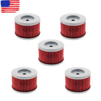 5 Oil Filter for Honda FourTrax 250 300 350 FourTrax Foreman 350 400 Big Red 250