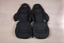 Custom Made 1997-2004 C5 Corvette Real Leather Seat Covers for Sport Seats
