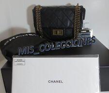 NWT Chanel Classic Flap Black leather shoulder bag 31 Rue Cambon Paris $3200. +