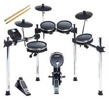 "Alesis Surge Mesh Kit leise E-Drum Schlagzeug Choke 10"" SnareMIDI Fußmaschine"
