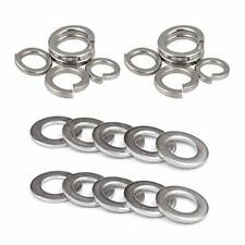 304 Stainless Steel Flat Washer and Split Spring Lock Washer Assortment M12