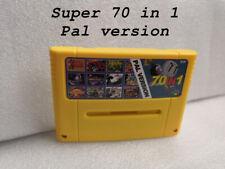 Super 70 in 1 Super Nintendo SNES Multi Cart Game Cartridge EUR PAL ENGLISH