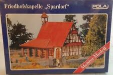 MINT SHRINK WRAPPED POLA 631 HO KIT - SPARDORF CEMETERY CHAPEL WITH GRAVES