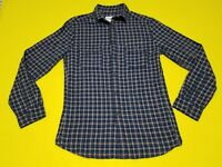 Plaid Shirt Size Small Color Image Blue Mens LS Goodfellow Free Shipping