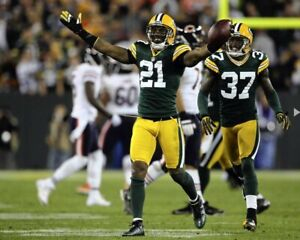 CHARLES WOODSON 8X10 PHOTO GREEN BAY PACKERS PICTURE NFL FOOTBALL VS BEARS