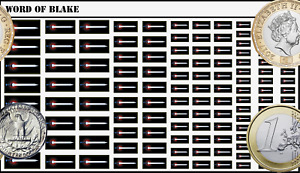 Battletech Waterslide Decals - Word of Blake