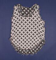 IRO Knit Fringe Tank Top Size 36 / US XS