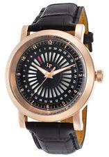 Lucien Piccard Ruleta Date Indicator Mens Watch LP-40014-RG-01