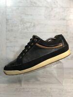 FJ Footjoy Contour Casual 54284 Black Leather Mens Size 10M Spikeless Golf Shoes
