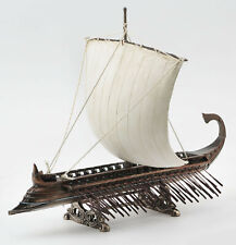 TRIREMES GREEK WARSHIP Model Display Home Decorative Collectible Figure