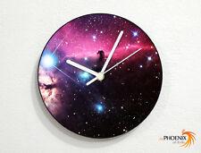 Galaxy - Nebula - Horsehead - Solar System - Wall Clock