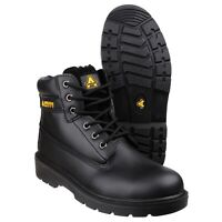 Amblers FS112 Ladies Mens Black S1P Safety Work Boot |UK3-15|