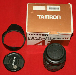 TAMRON SP AF 28-75mm f/2.8 XR Di LD Aspherical IF MACRO for Canon parts/repair
