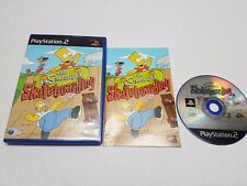 the simpsons skateboarding ps2 playstation 2 complete