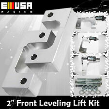 "2"" Front Leveling lift kit for Chevy Silverado 07-17 GMC Sierra GM 1500 LM Silve"