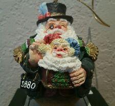 Vtg 1993 American Santas through the Decades 1880 Roly Poly Santa Roman 66908