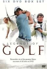 LEGENDS OF GOLF NEW 6 DVD GIFT SET Nick Faldo, Jack Nicklaus Masters, US Open